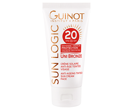 UNI-BRONZE-ANTI-AGEING-TINTED-SUN-CREAM-Guinot