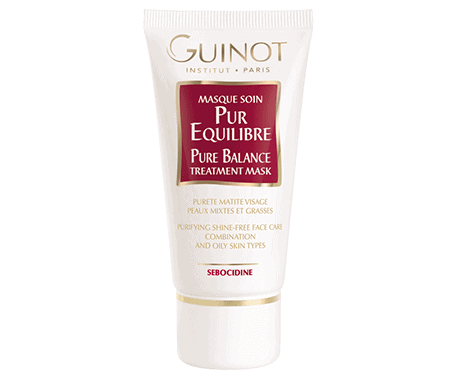 MASQUE-SOIN-PUR-EQUILIBRE-PURE-BALANCE-TREATMENT-MASK-Oily-Skin-Guinot
