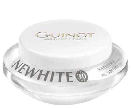 NEWHITE-CREME-JOUR-ECLARCISSANTE-SPF30-All-Skin-Types-Guinot